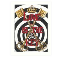 Love is the Key Art Print