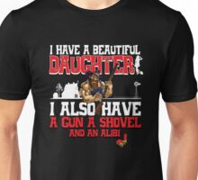 Hillbilly - I Have A Beautiful Daughter Black Variant Unisex T-Shirt