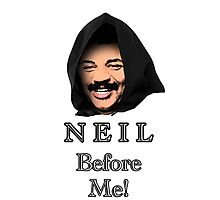 Neil Degrasse Tyson (Neil Before Me!) Photographic Print