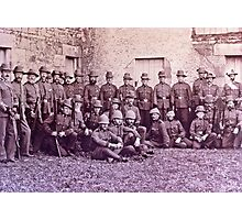 Returned Veterans of the Boer War Photographic Print