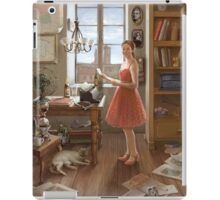The Writer at Home iPad Case/Skin