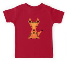 Little red fox, forest, cute, nature, animal, woodland, Kids Tee