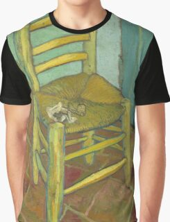 Chair still life by Vincent Van Gogh Graphic T-Shirt