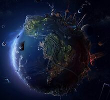 World from Space by RapidKnives