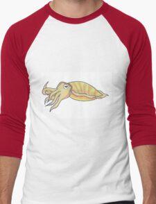 cuttlefish Men's Baseball ¾ T-Shirt