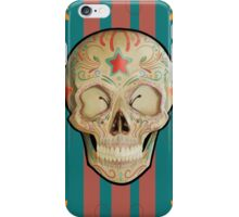 Realistic Sugar Skull iPhone Case/Skin