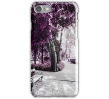 Pink garden iPhone Case/Skin