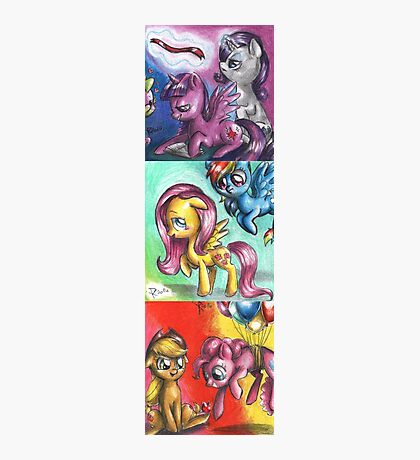 My little pony - The mane five Photographic Print
