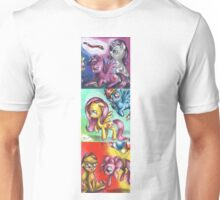 My little pony - The mane five Unisex T-Shirt