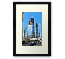 Reflections of Things to Come Framed Print