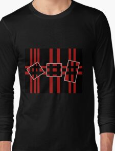 Geometrical abstraction Long Sleeve T-Shirt