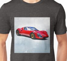 Watercolor painting of a supercar Unisex T-Shirt