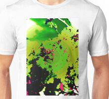 Abstract Spring Blossom, Green. Unisex T-Shirt
