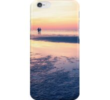 Baltic Sea sunset on the island Poel iPhone Case/Skin