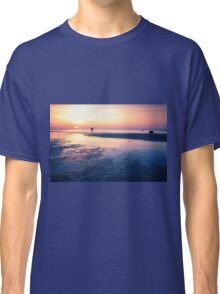 Baltic Sea sunset on the island Poel Classic T-Shirt