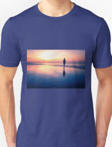 Baltic Sea sunset on the island Poel Unisex T-Shirt