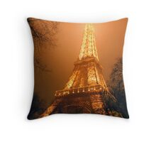 Eiffel Tower, Paris Throw Pillow