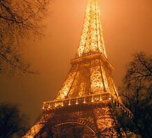 Eiffel Tower, Paris by Alberto  DeJesus