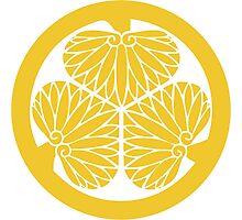 Tokugawa Crest Photographic Print