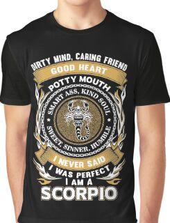 Scorpio shirt, Scorpio gift, I am an Scorpio, gift for Scorpio, Scorpio products Graphic T-Shirt