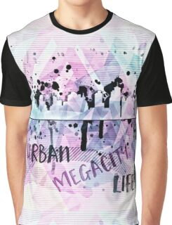 Graphic Style Vintage MEGACITY | Urban Life Graphic T-Shirt