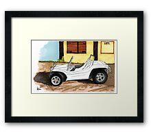 Beach Buggy Framed Print