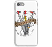 Reverse the Polarity! iPhone Case/Skin