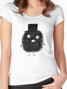 Scribble Man Women's Fitted Scoop T-Shirt