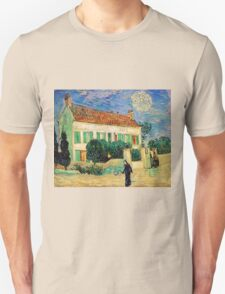 White House at Night by Vincent Van Gogh Unisex T-Shirt
