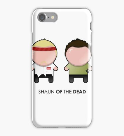 Shaun and Ed/ Shaun of the Dead iPhone Case/Skin