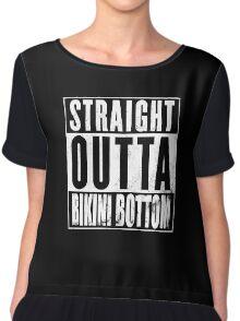 Straight Outta Bikini Bottom Chiffon Top