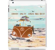 SANDY SALTY DAD VW KOMBI VAN iPad Case/Skin