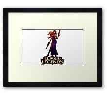 Secret Agent Miss Fortune - League of Legends Framed Print