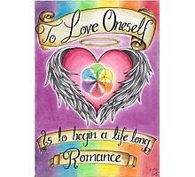 Love Oneself Photographic Print