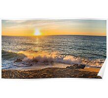 Costa Brava Beach Sunrise Poster