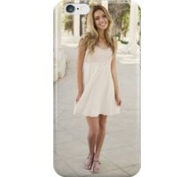 happy Blonde woman iPhone Case/Skin