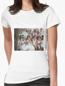 China little lady princessjes Womens Fitted T-Shirt