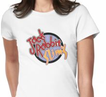 Jack Rabbit Slim's - Circle Logo Womens Fitted T-Shirt
