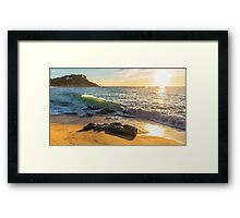 Costa Brava Beach Sunrise 2 Framed Print