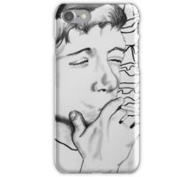 Ian Curtis - Joy Division Drawing  iPhone Case/Skin