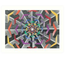 Tessellations  Art Print