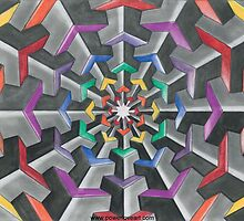 Tessellations  by Francesca Love Artist