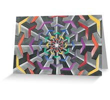 Tessellations  Greeting Card