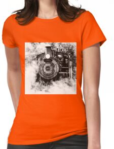 Steamed Womens Fitted T-Shirt