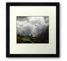 The Seeking Remains Framed Print