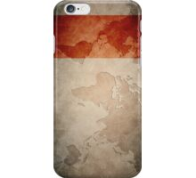 World Plan iPhone Case/Skin