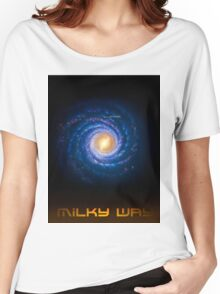 Milky Way - You Are Here - Version 2 Women's Relaxed Fit T-Shirt