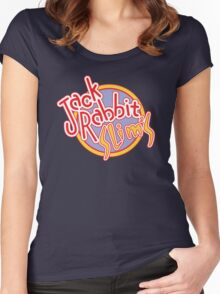Jack Rabbit Slim's - Circle Logo Variant Two Women's Fitted Scoop T-Shirt
