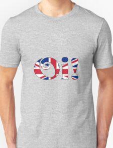 OI! Union Jack, British Slang Unisex T-Shirt