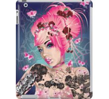 Raspberry ink iPad Case/Skin